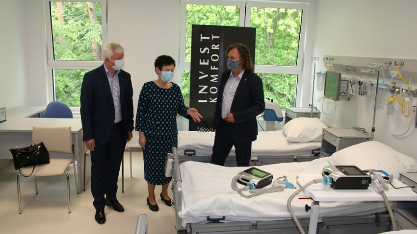 Nowy respirator trafił do Pomorskiego Centrum Reumatologicznego w Sopocie