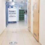Punkt szczepień tymczasowych w Aqua Centrum w Kościerzynie. Fot materiał prasowy szpitala