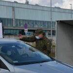 Punkt szczepień drive thru przy Stadionie Gdańsk. Fot. Copernicus