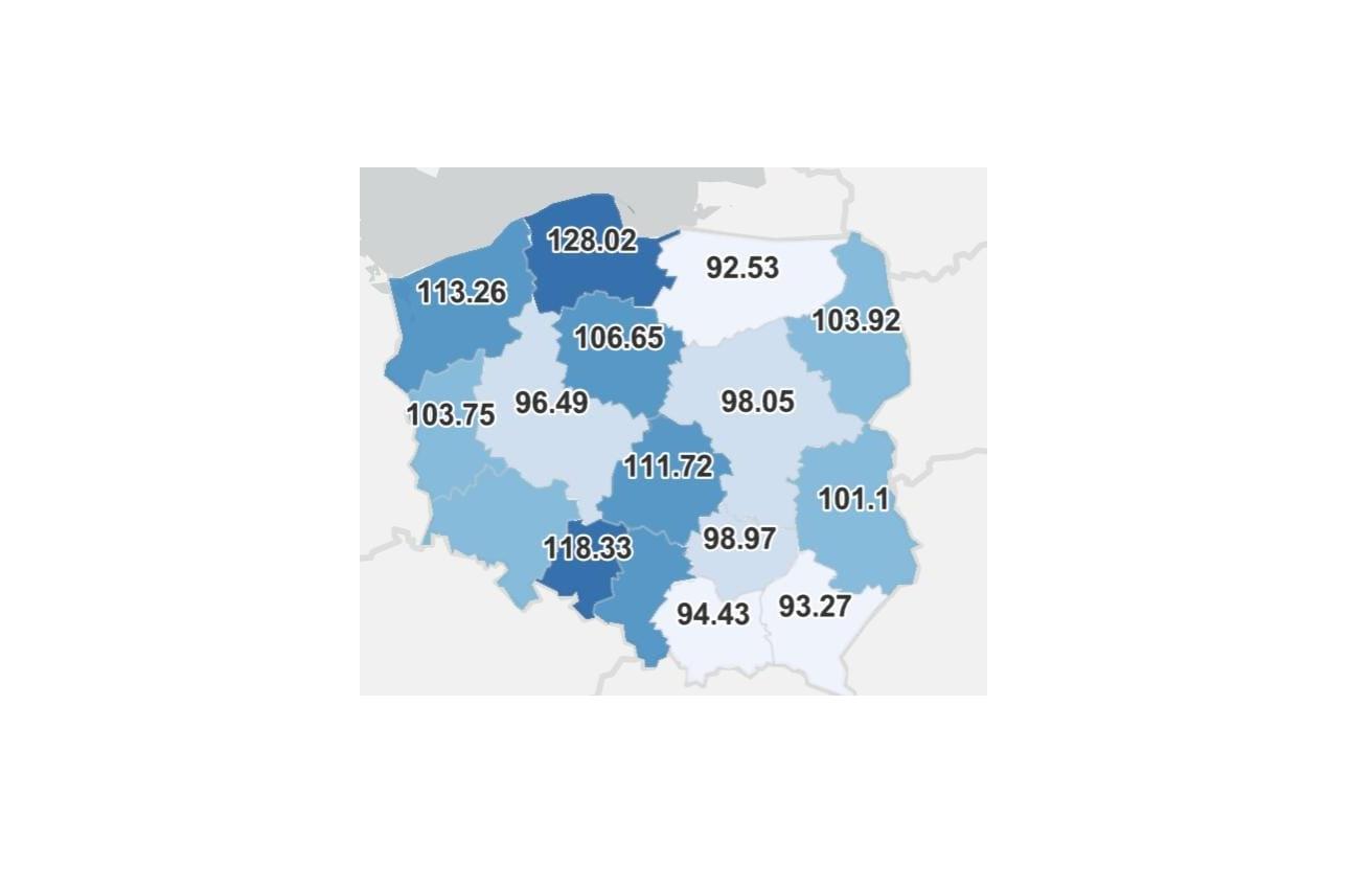 Na Pomorzu najwięcej szczepień  przeciwko COVID-19 pod względem liczby mieszkańców